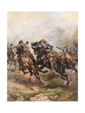 Prince Rupert's Cavalry Charge at Edgehill  1642