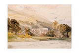Scotland: 'Melrose Abbey'  1842