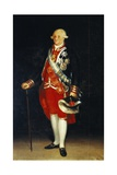 Portrait of Carlos IV