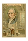 Chocolat Poulain Trade Card  Robert Stephenson