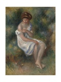 The Bather  C1900