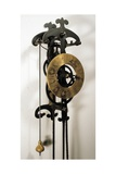Clock with Pendulum Designed