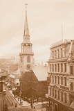 The Old South Meeting House  Boston