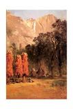 Acorn Granaries of the Piute Indians  C1873