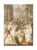 The Raising of Lazarus  1538-40