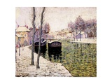 Barges on the Seine  1894