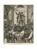 Hamilton Addressing the Mob