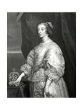 Queen Henrietta Maria  1851