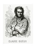 Portrait of Claude Gueux  1834