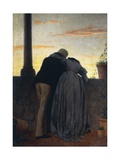 Lovers on Balcony  1866