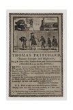 Chimney Sweeps  Thomas Pritchard  Trade Card