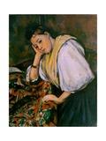 An Italian Girl  C1900