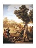 Hunting Quail  1775
