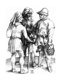 Three Peasants in Converation  1497