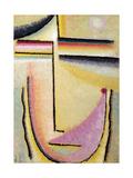 Abstract Head; Abstrakter Kopf  1928