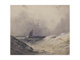 Sailing Boat before a Storm  C1830