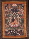 Thangka of Nagarjuna