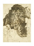 Study for Adoration of Magi
