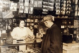 Mary Creed  Aged 14  Selling Cigars  C1930