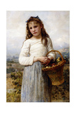 A Young Girl with a Basket of Fruit  1905