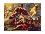 Aeneas Defeats Turnus