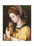 Lady with a Cat  C1525-30