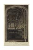 Henry VII Chapel  Westminster Abbey  London