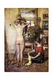 Nude in an Interior; Nu Dans Un Interieur  1923