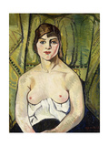 Woman with Bare Breasts