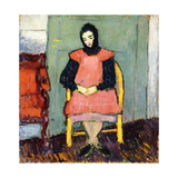 Girl in Yellow Chair  1906-07