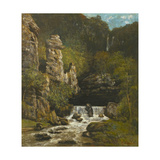 Landscape with a Waterfall  C1865