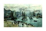 Fishing Boats Leaving Le Havre  1874