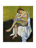 Seated Nude; Nu Assis  1916