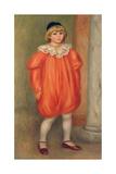 Claude Renoir in a Clown Costume  1909