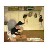 Madame Vuillard Sewing