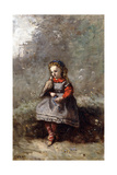 Mlle Leotine Desavary Holding a Dove  1872