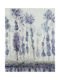 Poplars on the Eure  1900