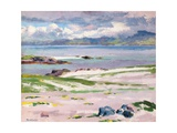 Towards Mull from Choc Ard Anraidh  Iona  C1928