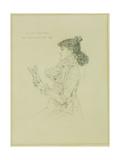 Portrait of Sarah Bernhardt  1879