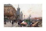 The Flower Market  Paris
