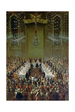 Banquet in the Redoutensaal  Vienna  1760