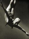 Dorothy Poynton at the Berlin Olympic Games  1936