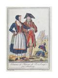 Inhabitants of Housberg  Near Strasbourg  1796