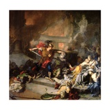 The Death of Priam  1785
