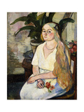 Portrait of Germaine Utter  1922