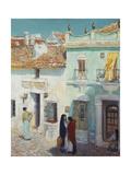 Street Scene  La Ronda  Spain  1910