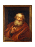 The Cheerful Democritus  1746