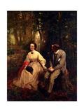 Courtship  1864-65