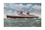 American Ocean Liner Ss United States