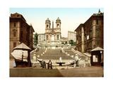 Sta Trinita Dei Monti  Rome